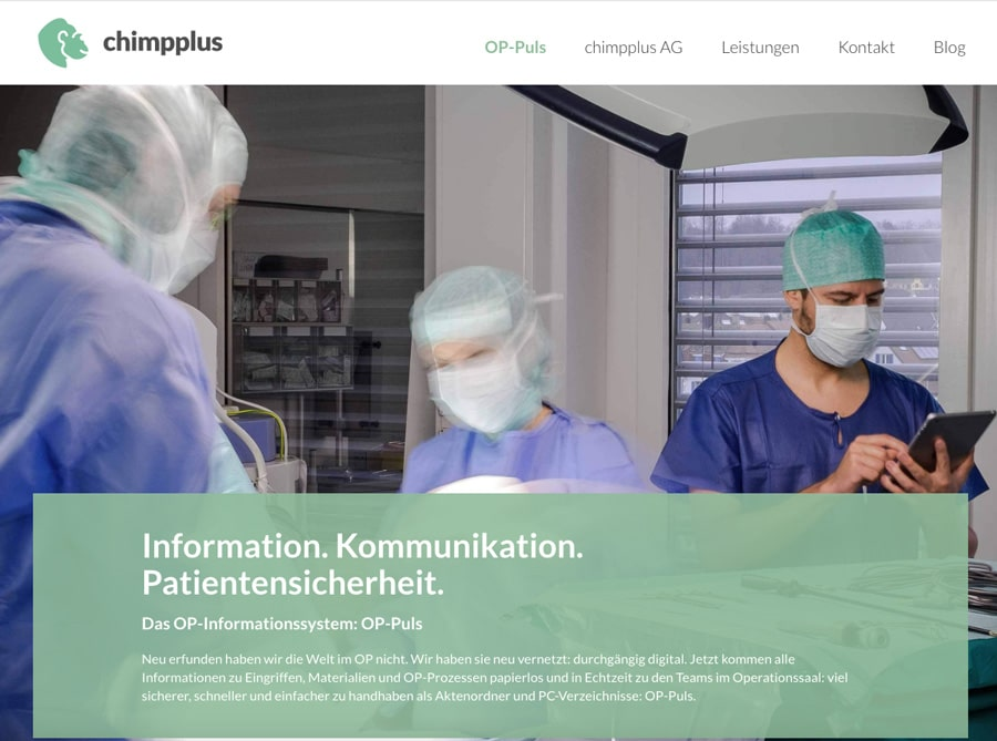 Chimpplus Website